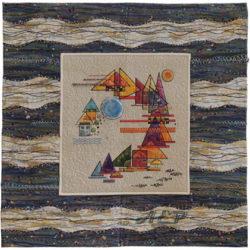 Kandinsky entre olas de Pepa de la Morena